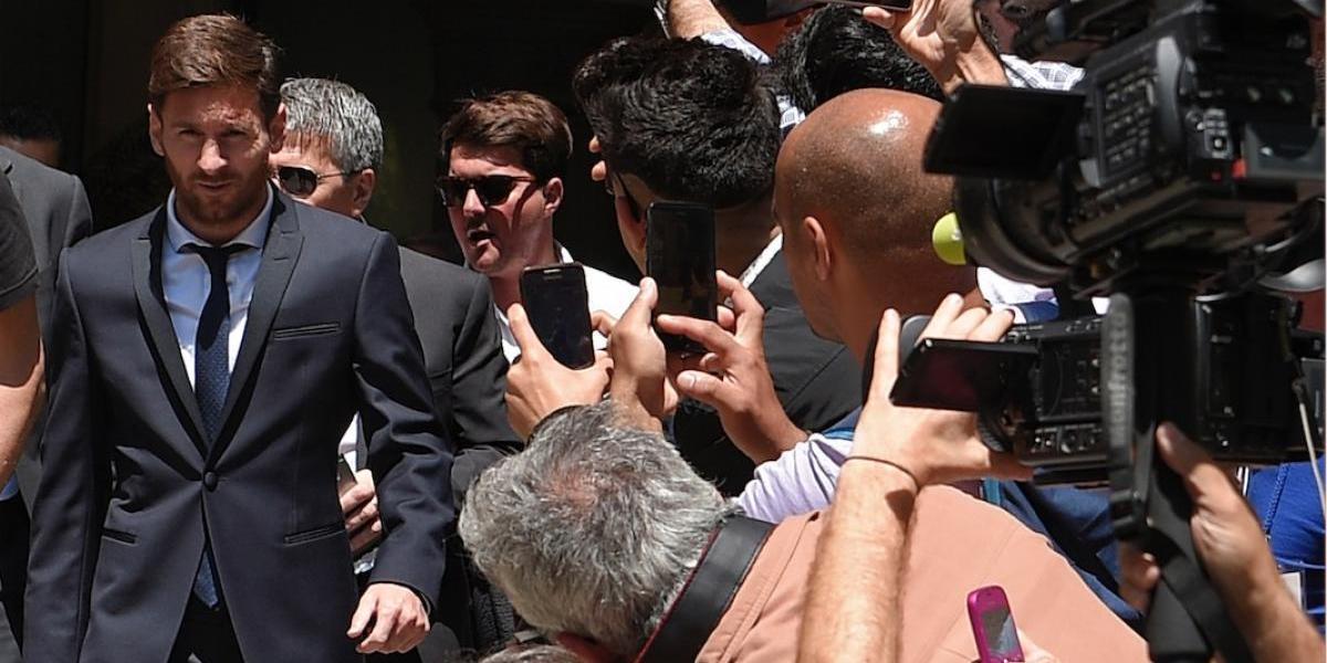 El Barça muestra su apoyo a la familia de Messi por el difícil momento