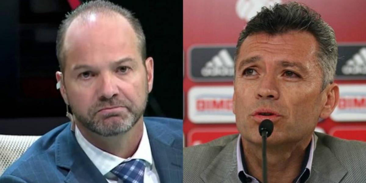 Luis García le pide a Higuera dejarlos transmitir la Gran Final