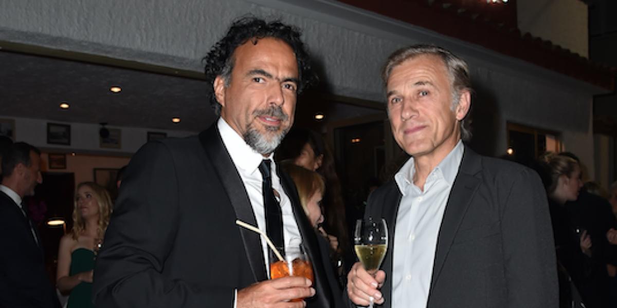 Alejandro González Iñárritu comparte cena gala en Cannes