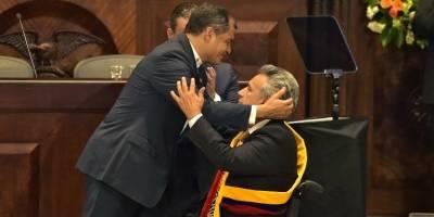 Rafael Correa y Lenín Moreno