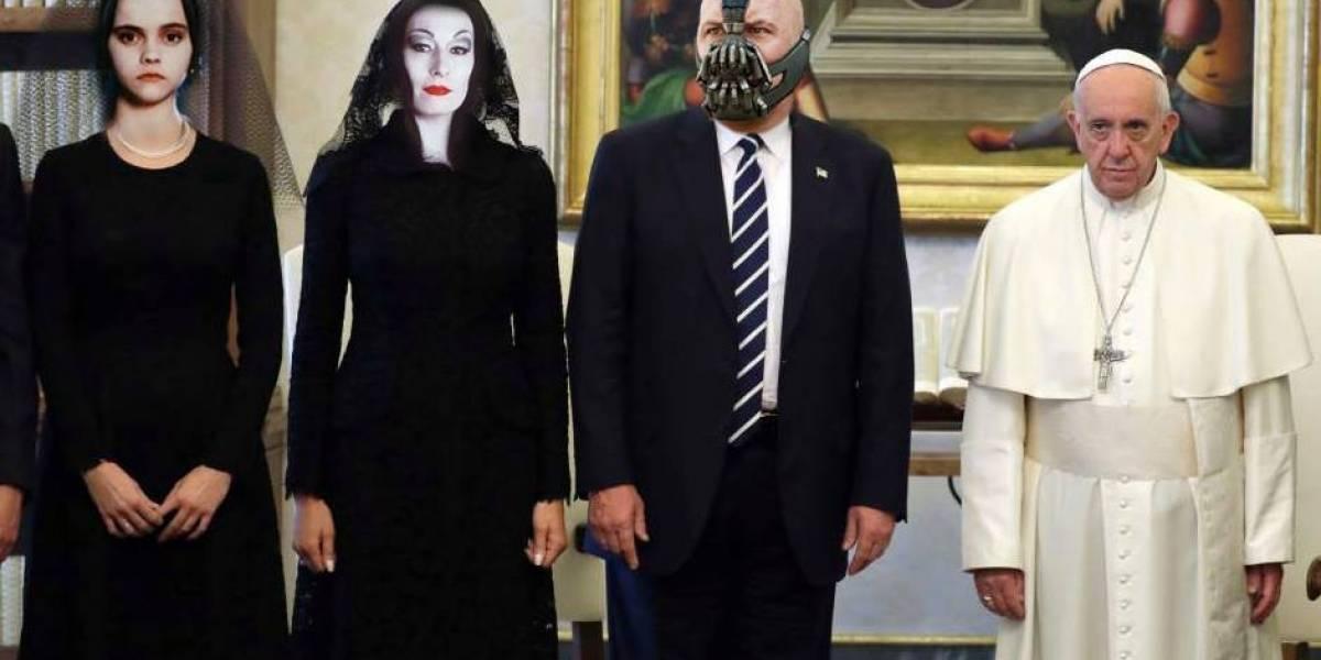 Lluvia de memes por la reunión entre el Papa y Donald Trump