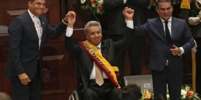 HISPAN TV.- Ecuador celebra ceremonia de cambio de mando presidencial
