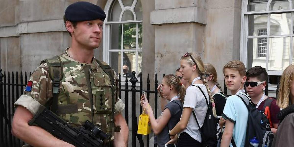 Así es el gran despliegue militar en las calles del Reino Unido para prevenir otro posible atentado como el de Manchester