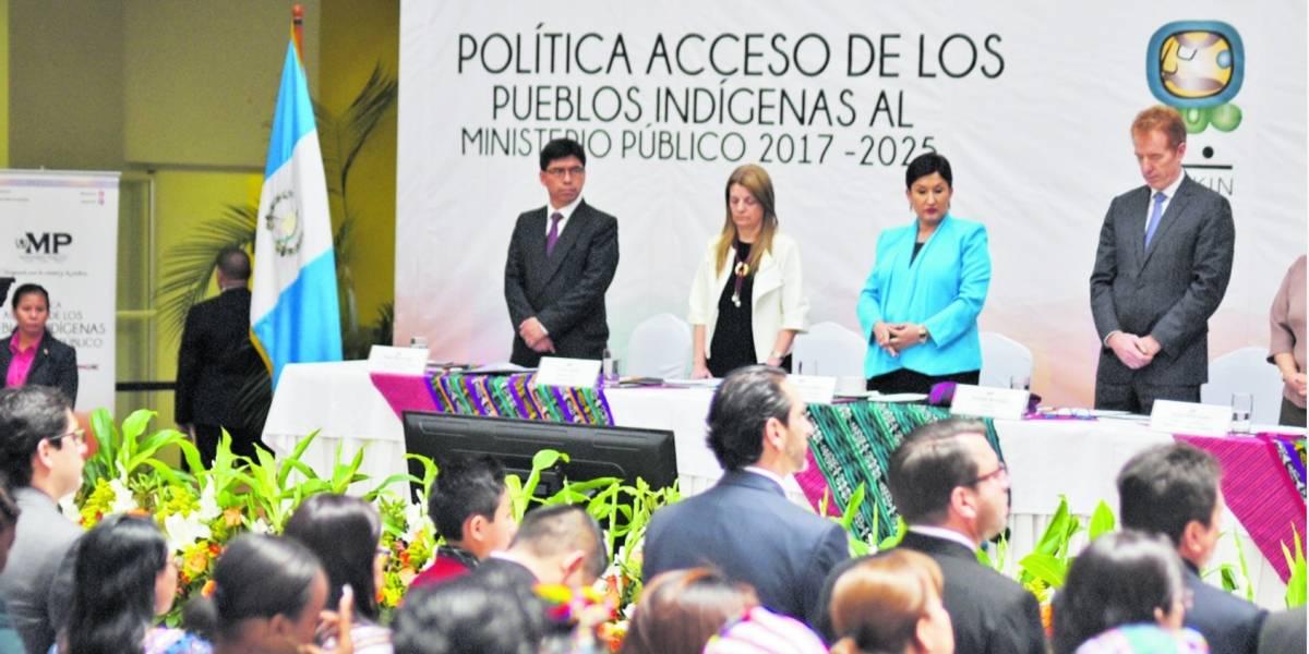 MP se refuerza con la creación de la Secretaría de Pueblos Indígenas