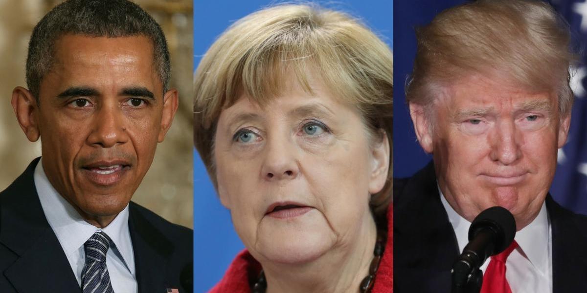 Merkel se reunirá por la mañana con Obama y por la tarde con Trump
