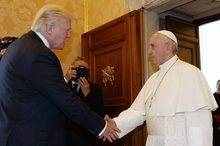 Papa y Trump abordan paz, diálogo interreligioso y Medio Oriente