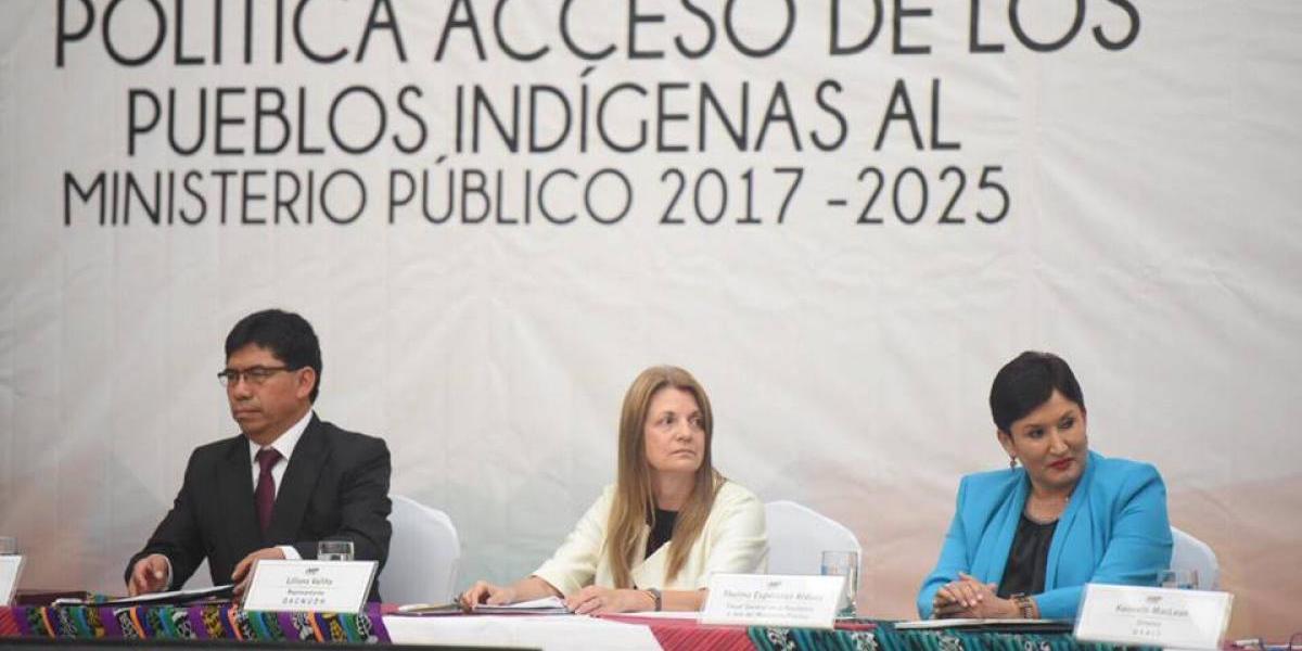 Ministerio Público inaugura Secretaría de Pueblos Indígenas