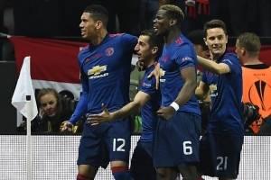 Gol del Manchester United contra el Ajax
