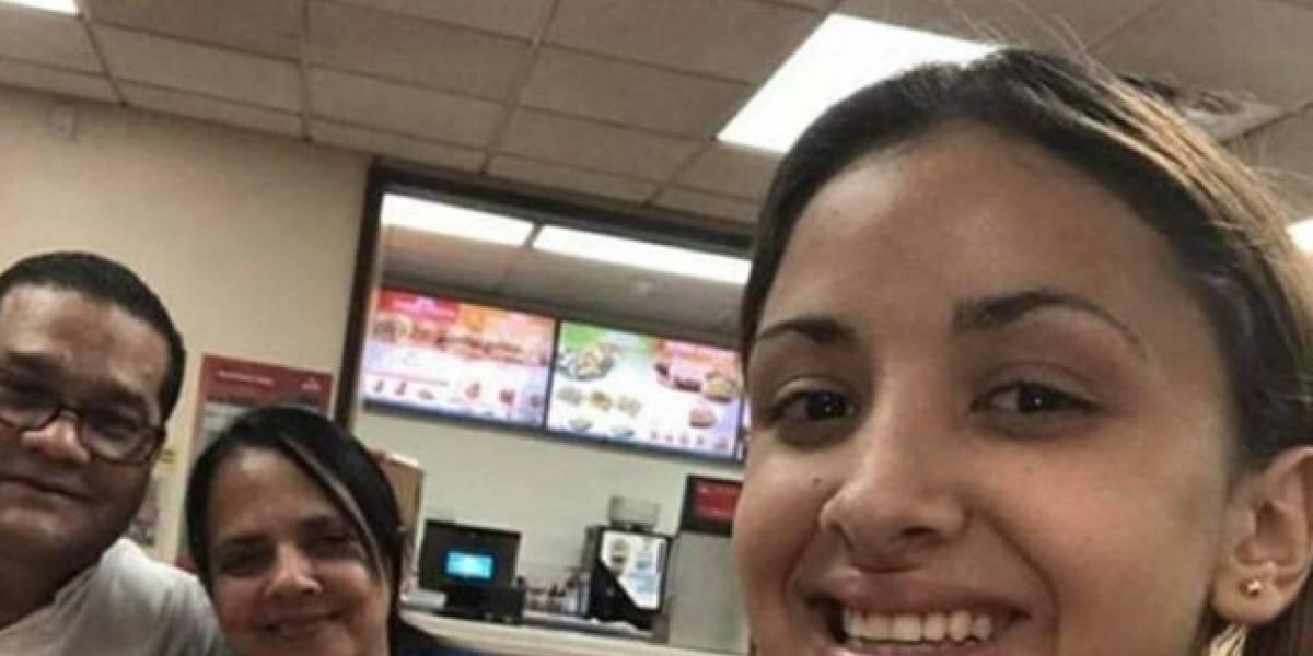Aparece joven reportada desaparecida hace un mes