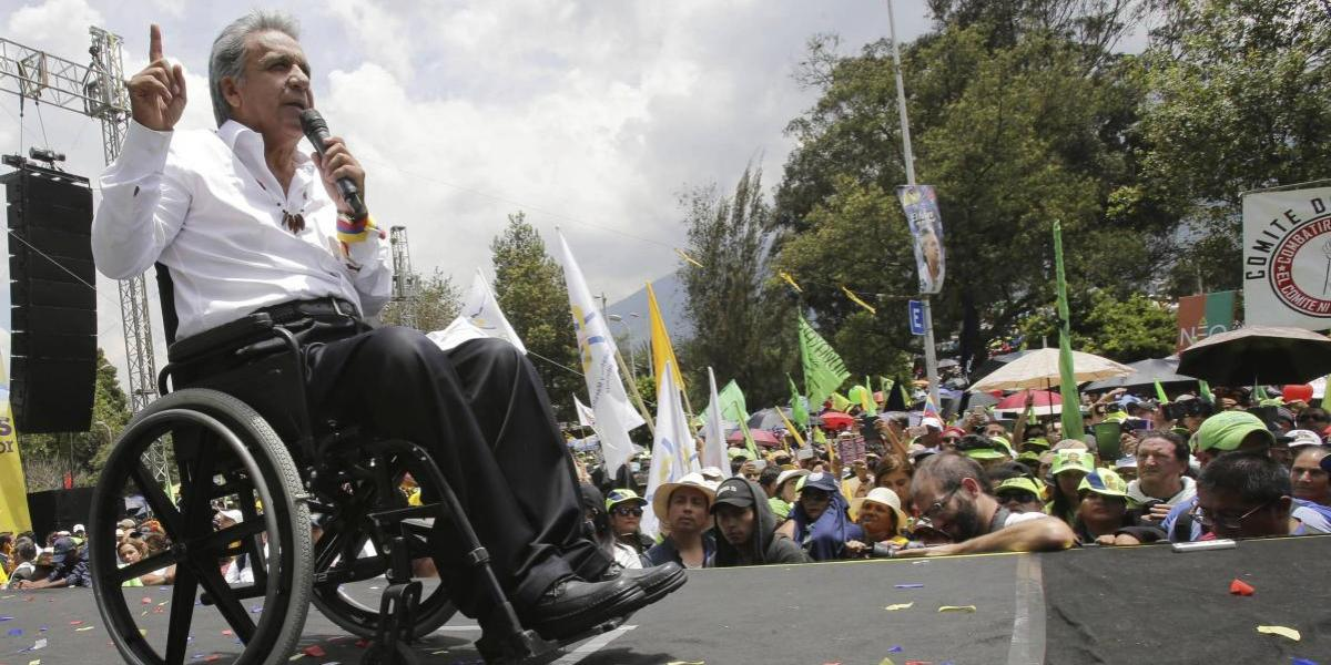 Lenín Moreno asume el mandato como nuevo presidente de Ecuador
