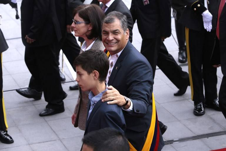 Ecuador se alista para cambio de mando presidencial