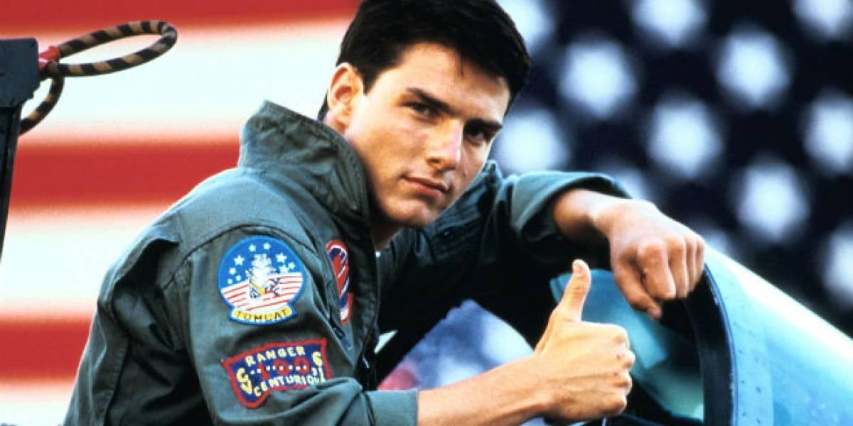 """Tom Cruise confirma que habrá segunda parte de """"Top Gun"""""""