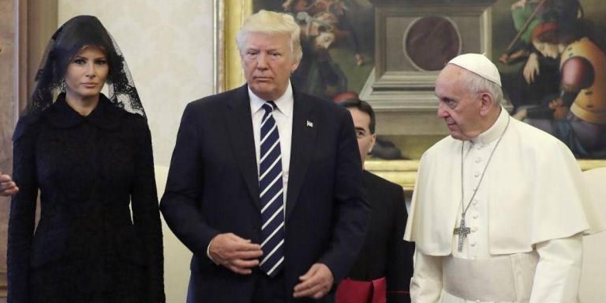 Los regalos que el Papa Francisco dio a Trump que envían un claro mensaje de rechazo a la guerra