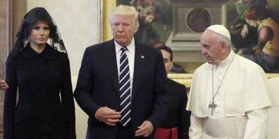 El Papa pide a Trump que trabaje por la paz