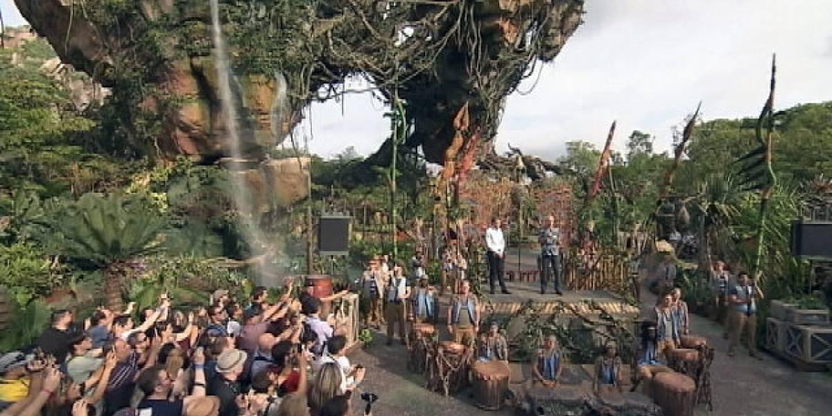 """Disney inaugura """"Pandora"""", su nueva atracción inspirada en Avatar"""