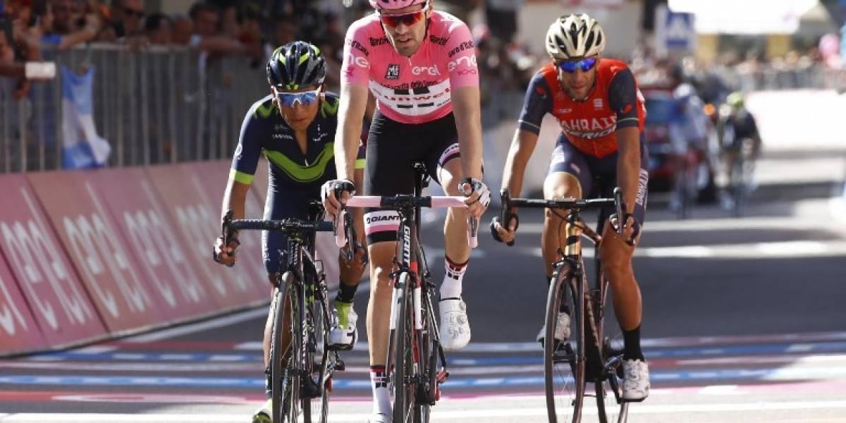 Giro de Italia: Tom Dumoulin aguanta la presión de Nairo Quintana a falta de tres etapas