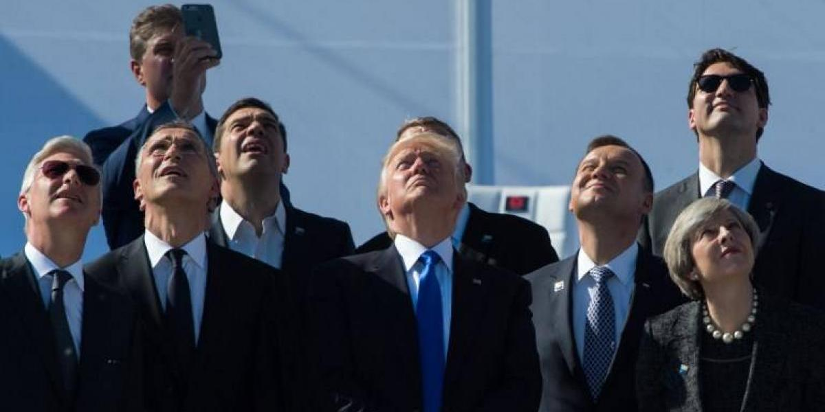 """America First"": El empujón que Trump le da a un primer ministro en la OTAN"
