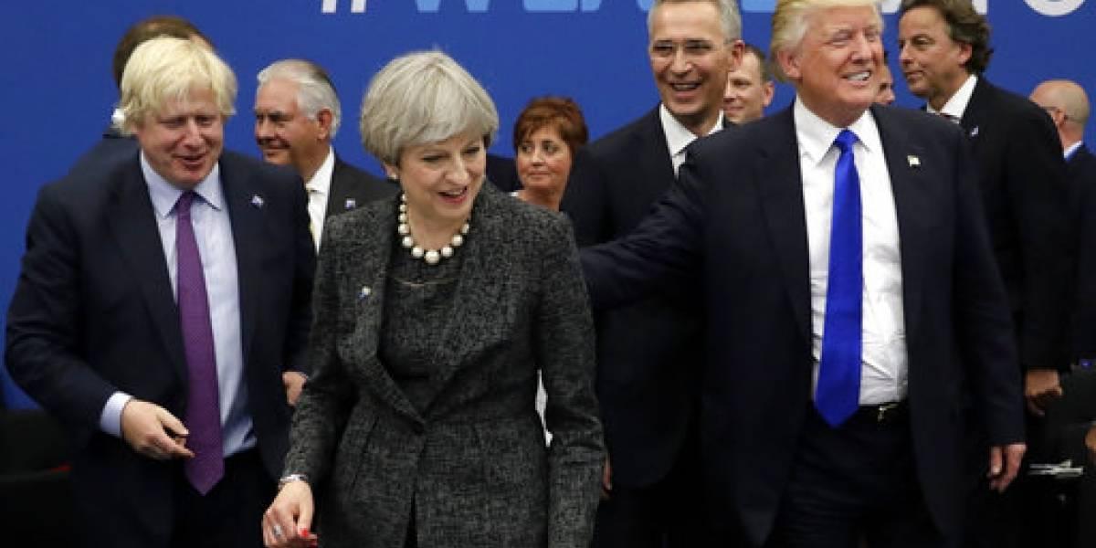 Trump pide a la OTAN se concentre en terrorismo, inmigración y Rusia