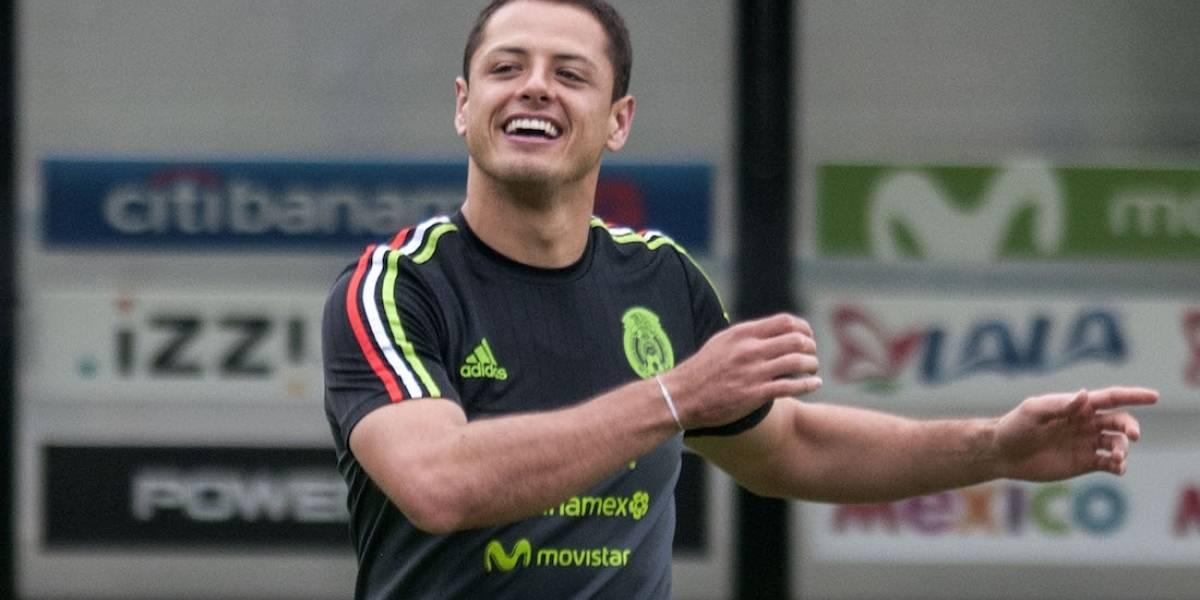 Trollean a 'Chicharito' por presumir televisora en la que vio la Final