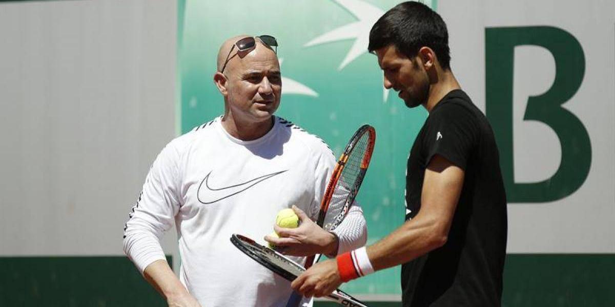 La confesión de Agassi: Steffi Graf me convenció de entrenar a Djokovic