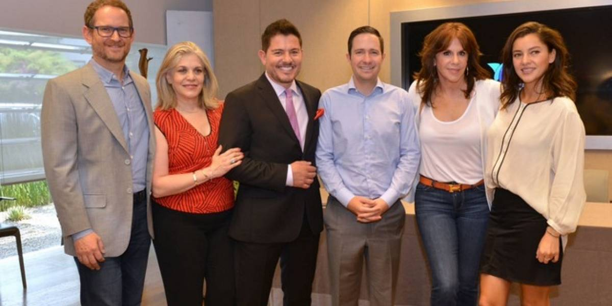 Rebecca Jones, Sara Maldonado y Ernesto Laguardia llegan a TvAzteca