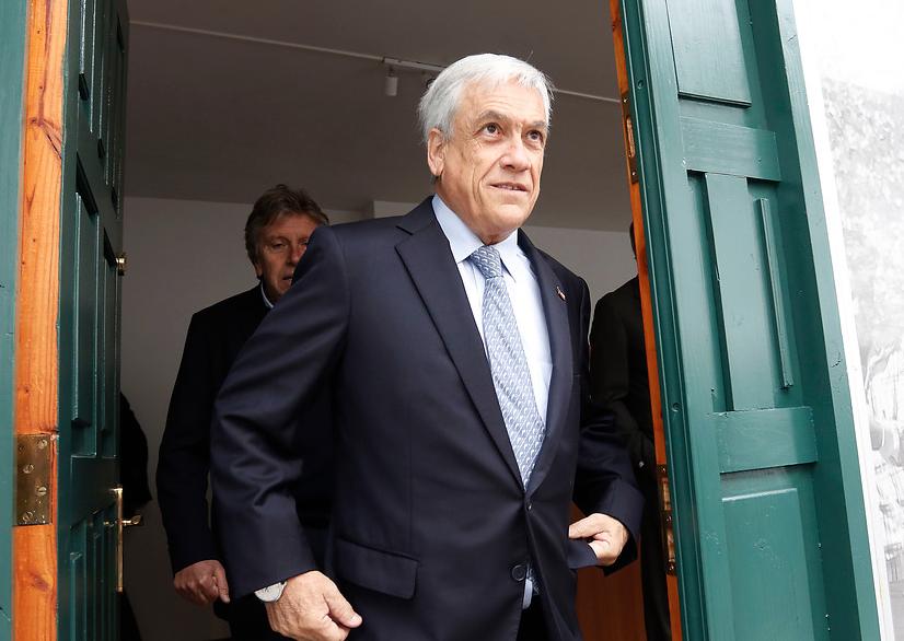 Revelan que Piñera no habría declarado en 2010 participación en Corpesca