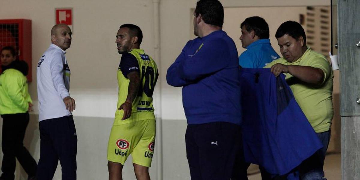 El polémico Jorge Luna no jugará más en Universidad de Concepción