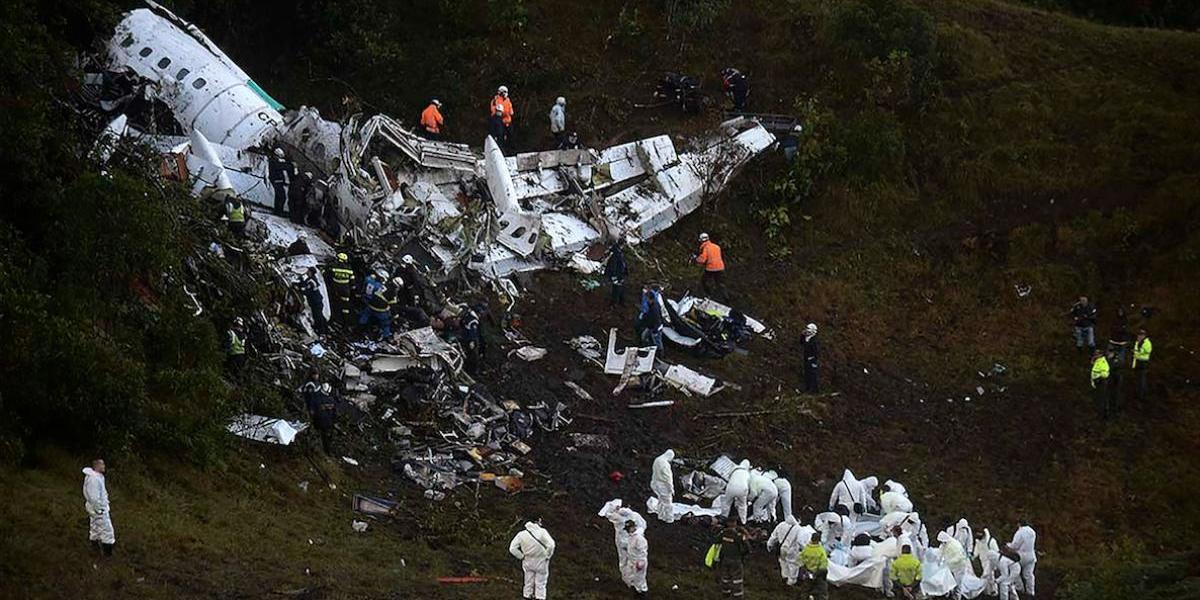 Revelan nueva información sobre el accidente del Chapecoense