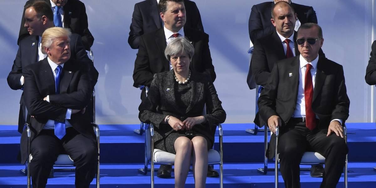 Trump se las canta a los países miembros de la OTAN