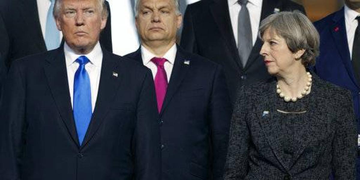 Theresa May reclama a Trump sobre filtración de inteligencia a prensa estadounidense
