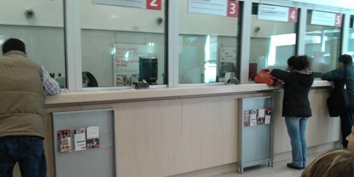Denuncian red de delincuencia en banco de Polanco