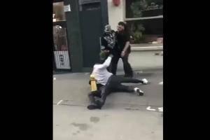 VIDEO: Jugador del Manchester City protagoniza pelea callejera