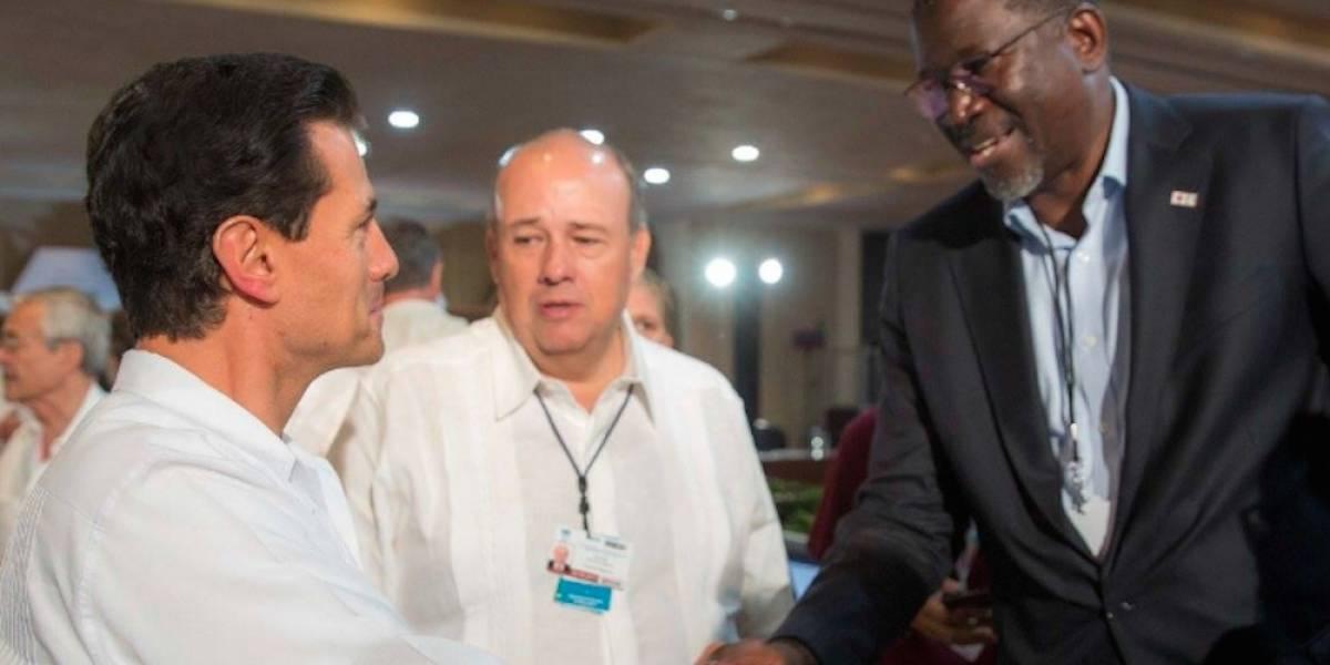 Peña Nieto destaca invaluable contribución de la Cruz Roja en México
