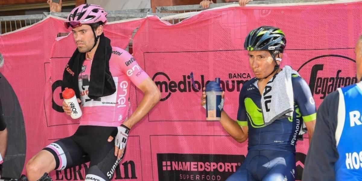 """""""Me gustaría verles perder el podio de Milán por su manera de correr"""": Dumoulin sobre Nairo y Nibali"""