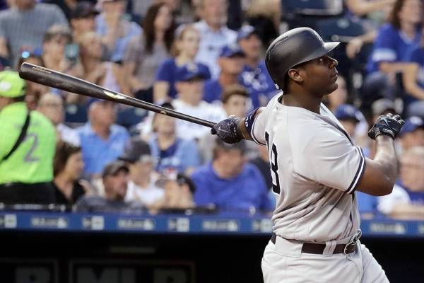 Chris Carter de los Yankees de Nueva York