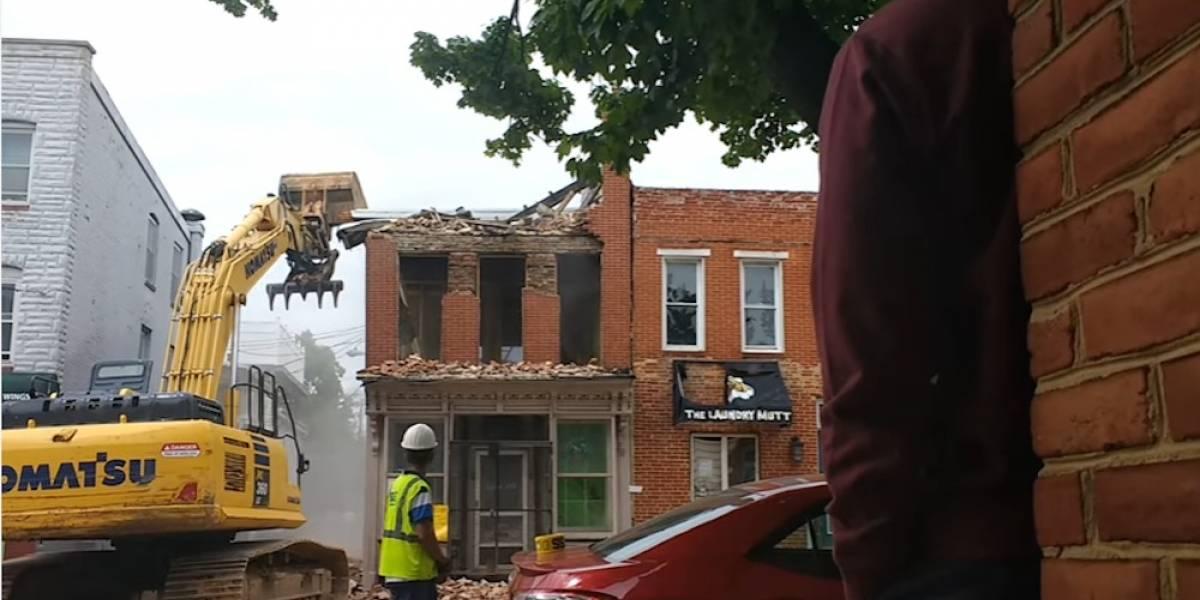 Expertos de la construcción derriban el edificio equivocado