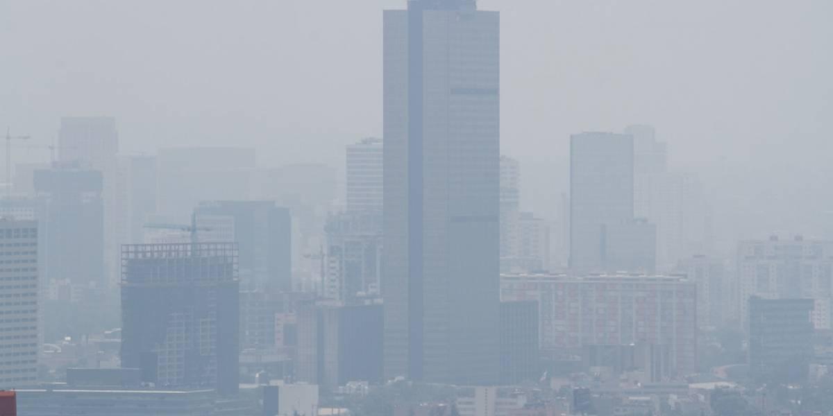 Ni un sólo día con buena calidad del aire este 2017 en la CDMX