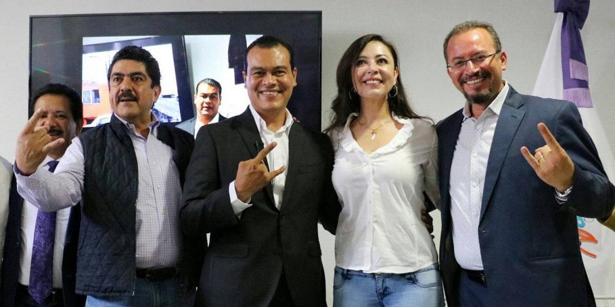 Manuel Espino se suma a campaña de Zepeda