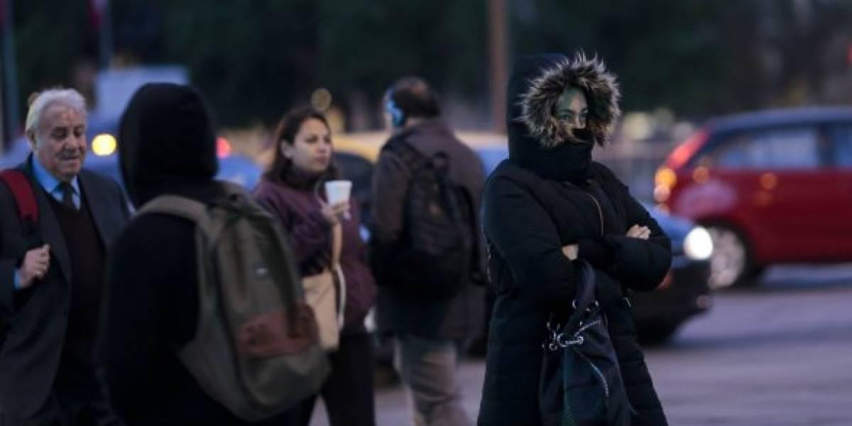 A guardar los paraguas: lluvias abandonan Santiago y se aproxima ola de frío