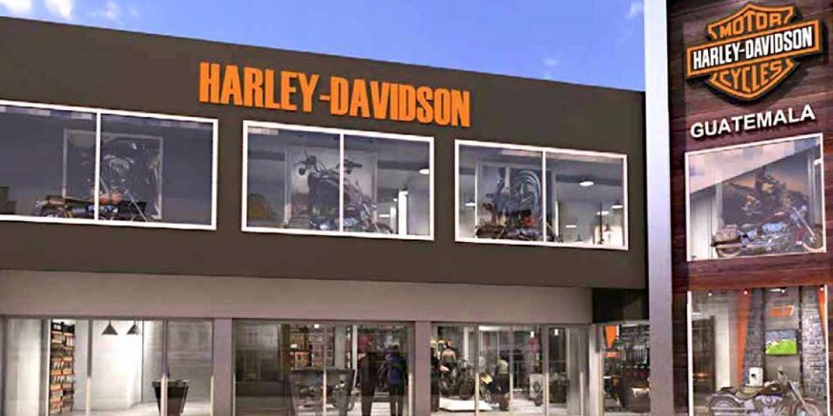Los fanáticos de las motocicletas Harley-Davidson amarán la nueva agencia en Guatemala