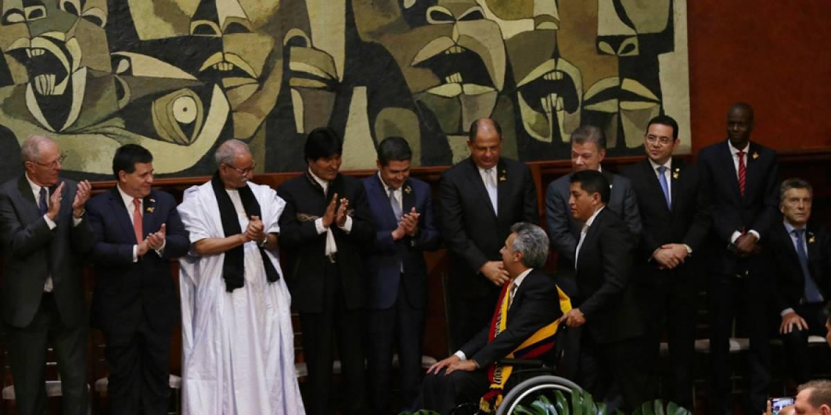 Jimmy Morales se acerca al sucesor de Rafael Correa en Ecuador