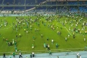 Partido de futbol termina con batalla campal y balacera entre aficionados