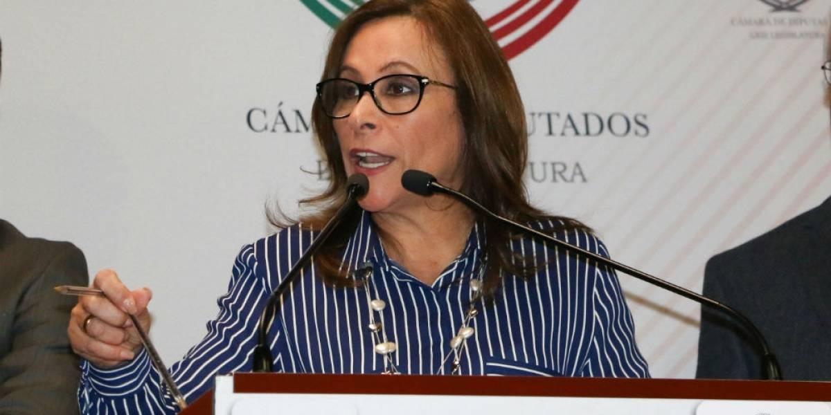 Rocío Nahle niega ser el enlace financiero de AMLO