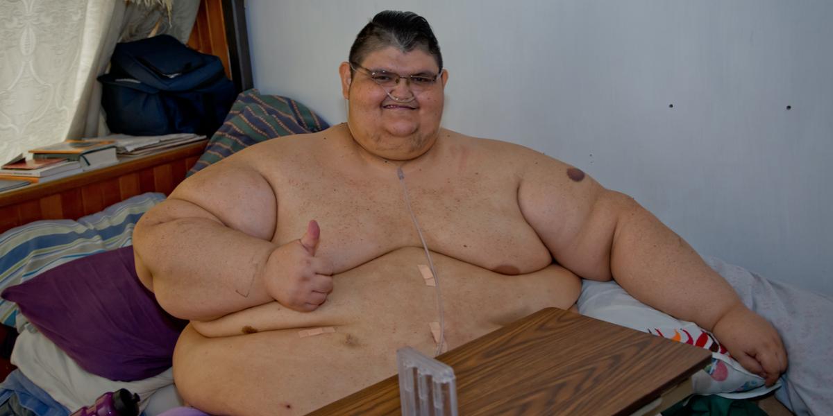 Juan Pedro Franco mantiene su lucha contra la obesidad