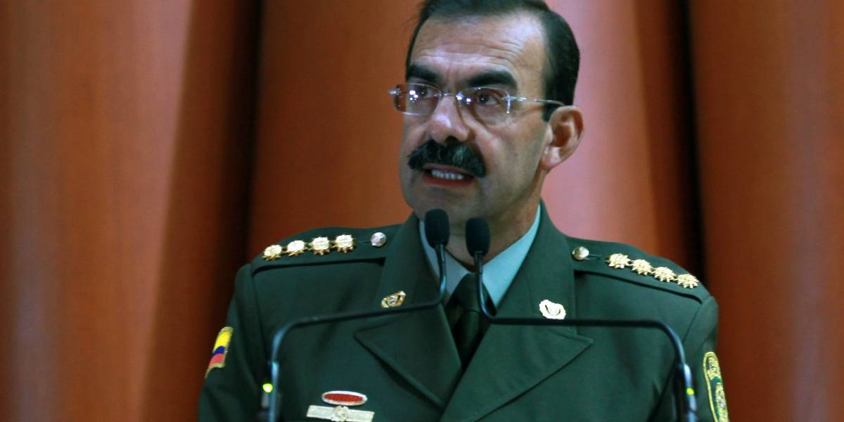 General Palomino no aceptó cargos por tráfico de influencias