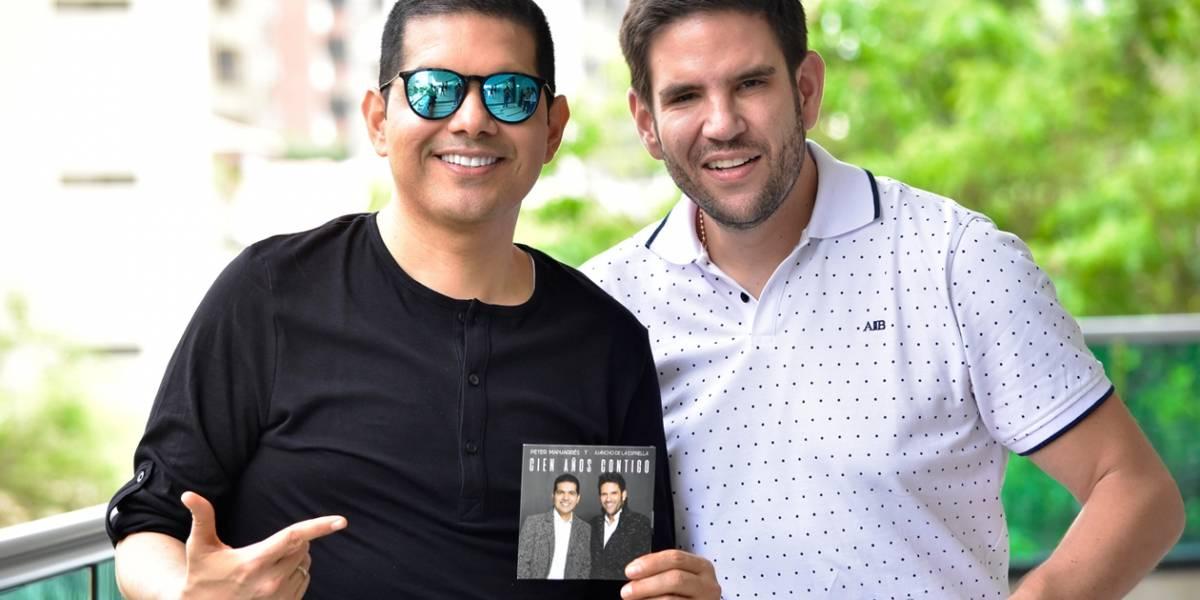 """""""Queremos darle un buen ejemplo a las nuevas generaciones del vallenato"""": Peter Manjarrés y Juancho De La Espriella"""