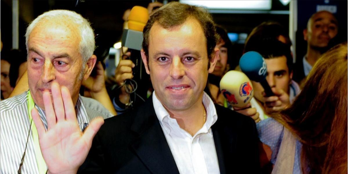 Prisión sin fianza para el expresidente del Barcelona, Sandro Rosell
