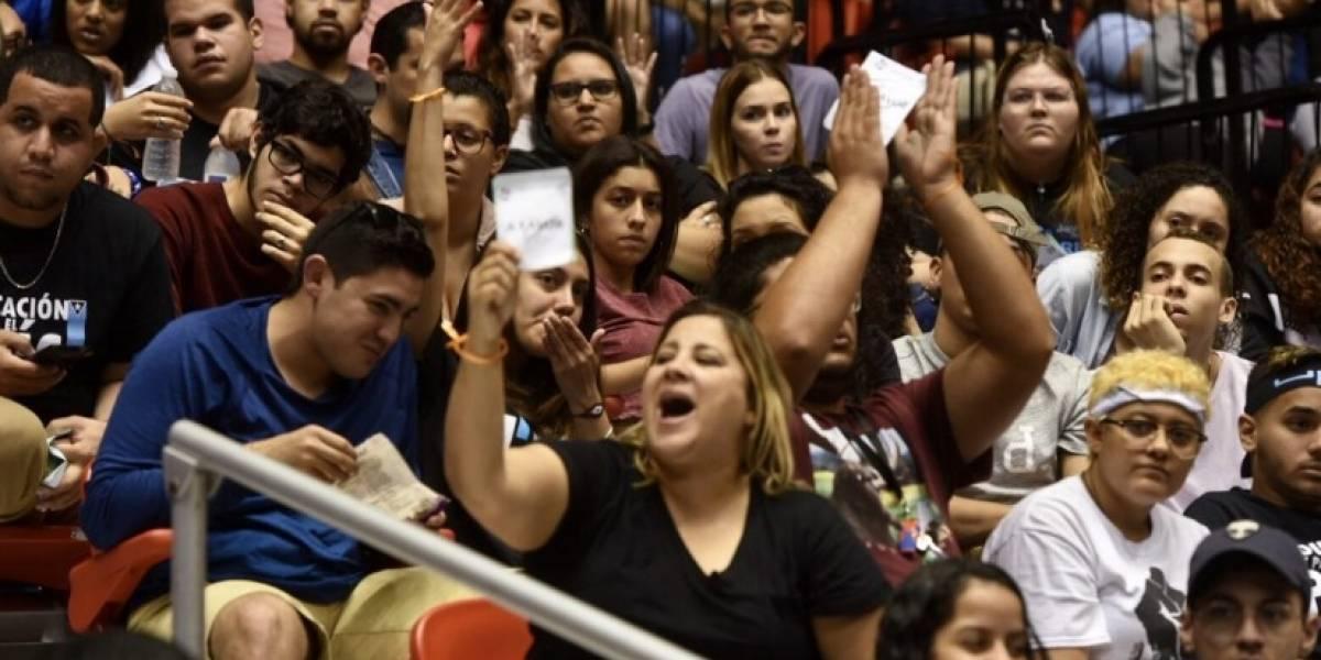 Estudiantes UPR exigen acuerdos vinculantes