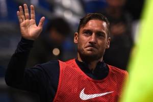 Totti anuncia su último partido con la Roma