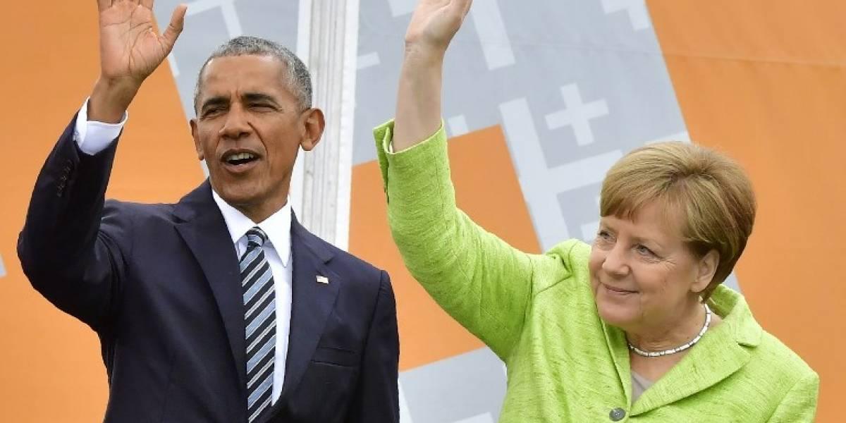 Merkel y Obama llaman a luchar contra la xenofobia y los nacionalismos